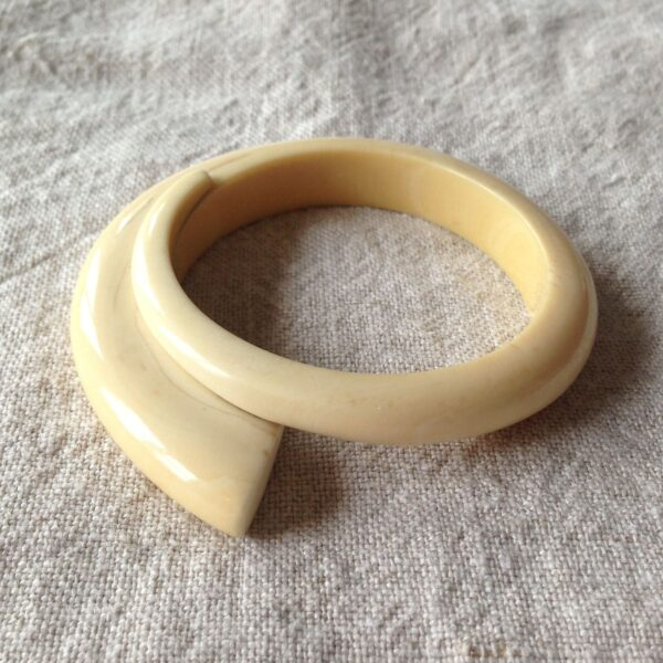 Art Deco Ivory Bangle Circa 1930