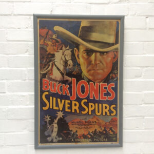 Silver Spurs original lithograph poster