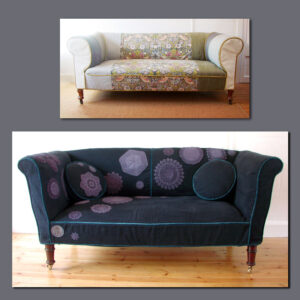 Loose cover Chesterfield Sofas