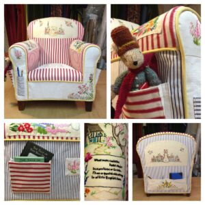 child's reading chair