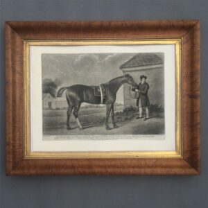 A fine mezzotint print of Eclipse after the painting by George Stubbs